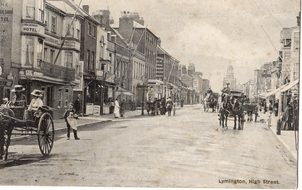 High Street | Lymington and District Historical Society